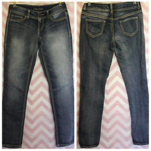 Maurices Denim - Maurices Medium Wash Skinny Jeans Size S-R